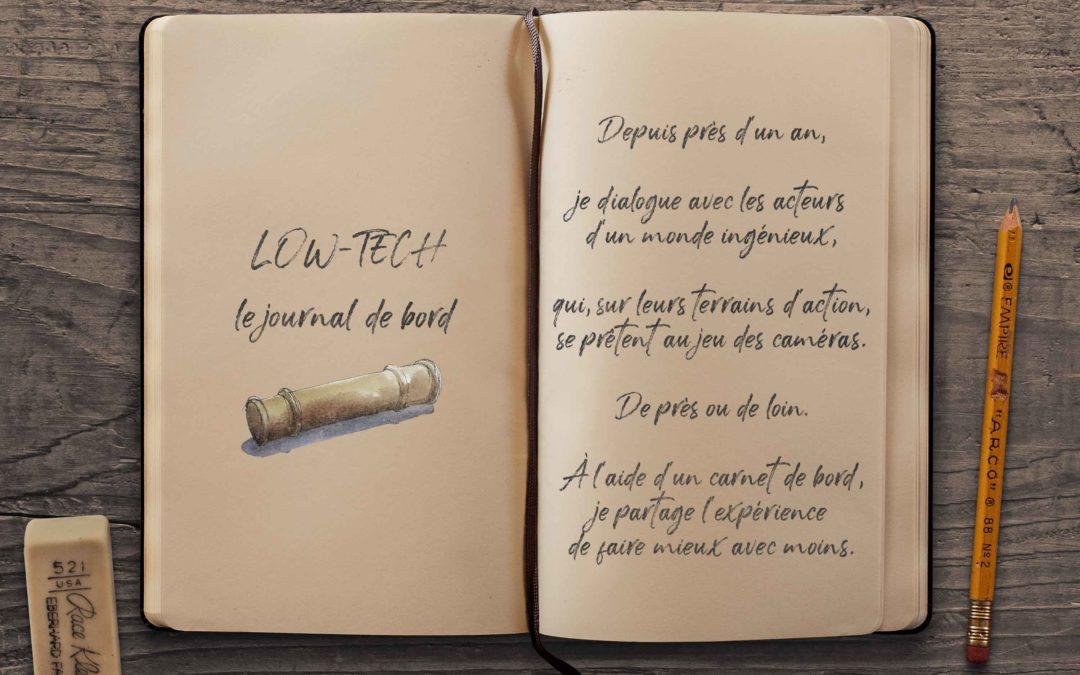 Low-tech le film : Journal de bord #1