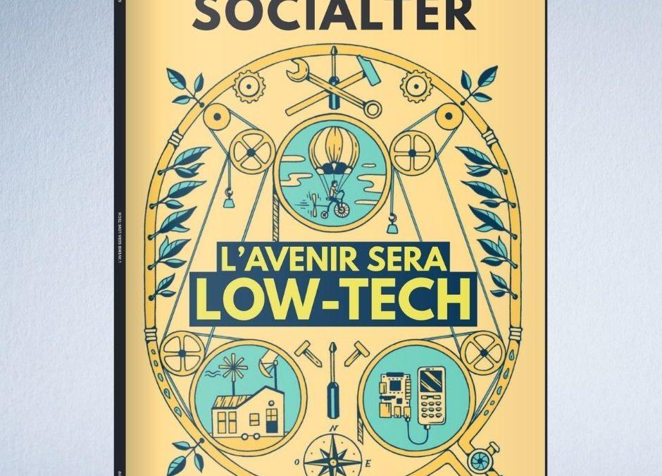 A propos du Hors-Série de Socialter spécial Low-Tech