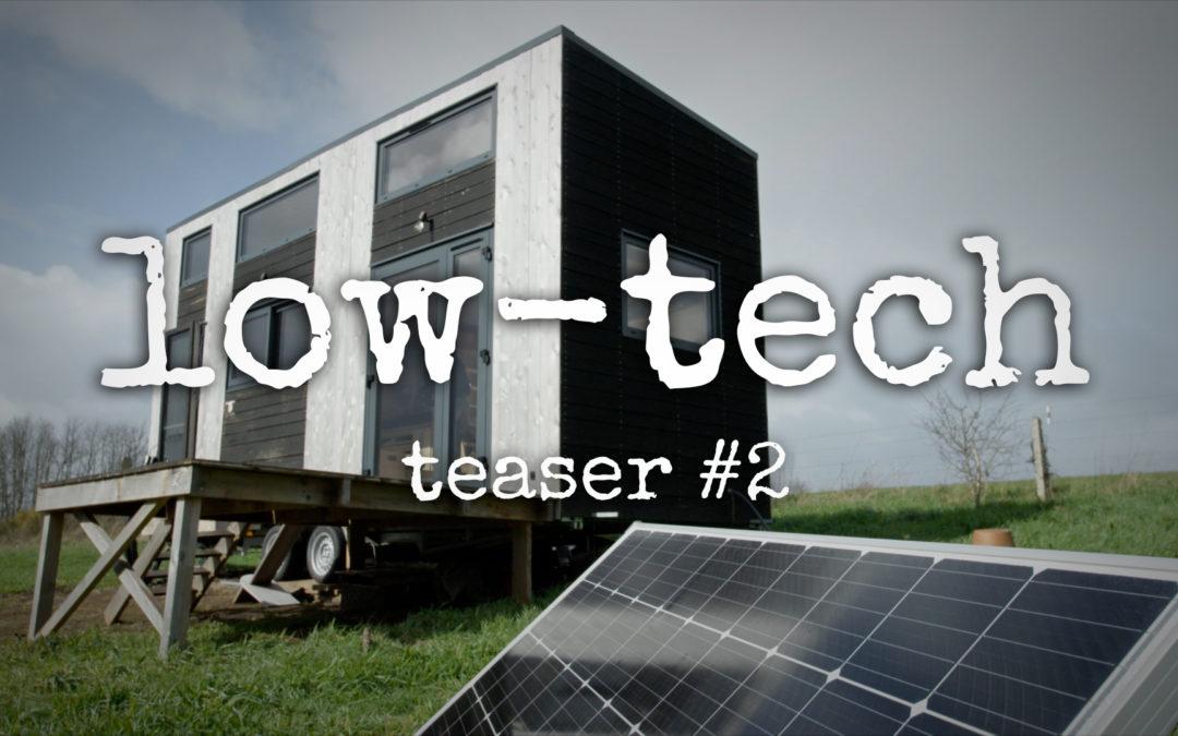Teaser #2 : l'expérience d'un habitat low-tech